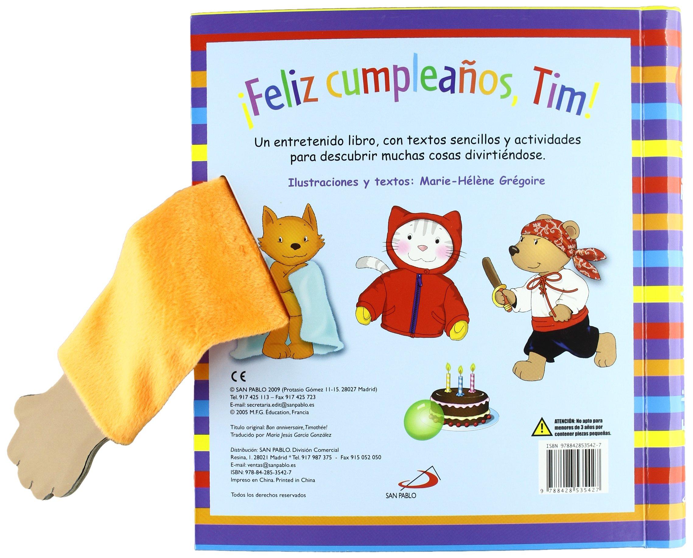 Feliz cumpleaños, Tim!: 9788428535427: Amazon.com: Books