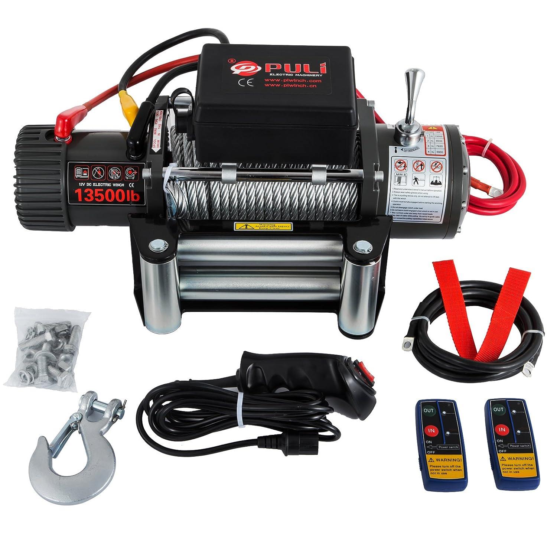 Comprar Cabrestante de Recuperación 6120KG Cuerda Eléctrica con Control Remoto Moracle