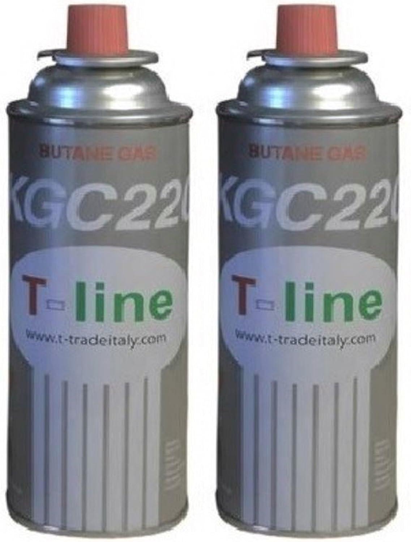 Bombona de gas de 250 g para hornillo de maleta, 2 unidades ...