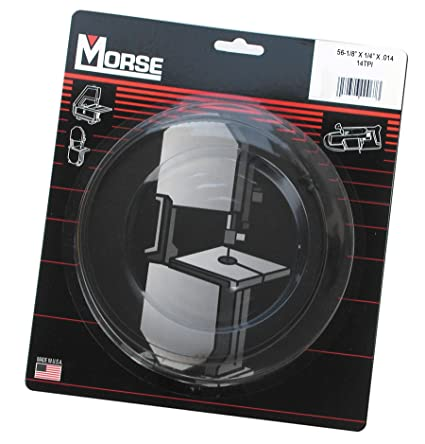 Mk morse zcbb14 14tpi woodworking stationary bandsaw blade 56 18 mk morse zcbb14 14tpi woodworking stationary bandsaw blade 56 18 inch greentooth Images