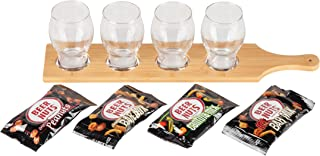 product image for BEER NUTS Craft Beer Flight Gift-Set Including Samples of Original Peanuts, Bar Mix, and Cantina Mix