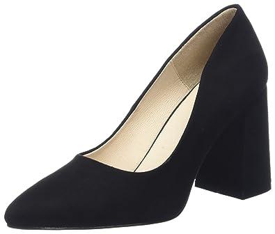 Shoe the Bear Emmy S, Baskets Hautes Femme, Noir (Black), 36 EU