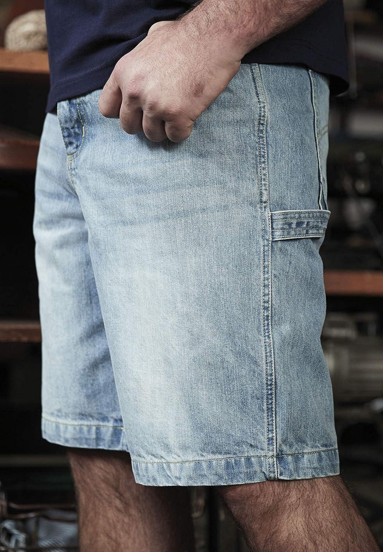 Liberty Blues Mens Big /& Tall Denim Carpenter Shorts