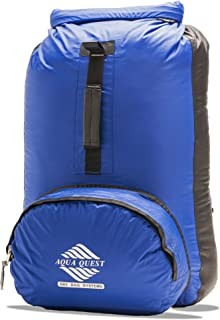 Aqua Quest HIMAL Blue Waterproof Day Pack Ultra Light, Adjustable for Men, Women, Kids, Students 289