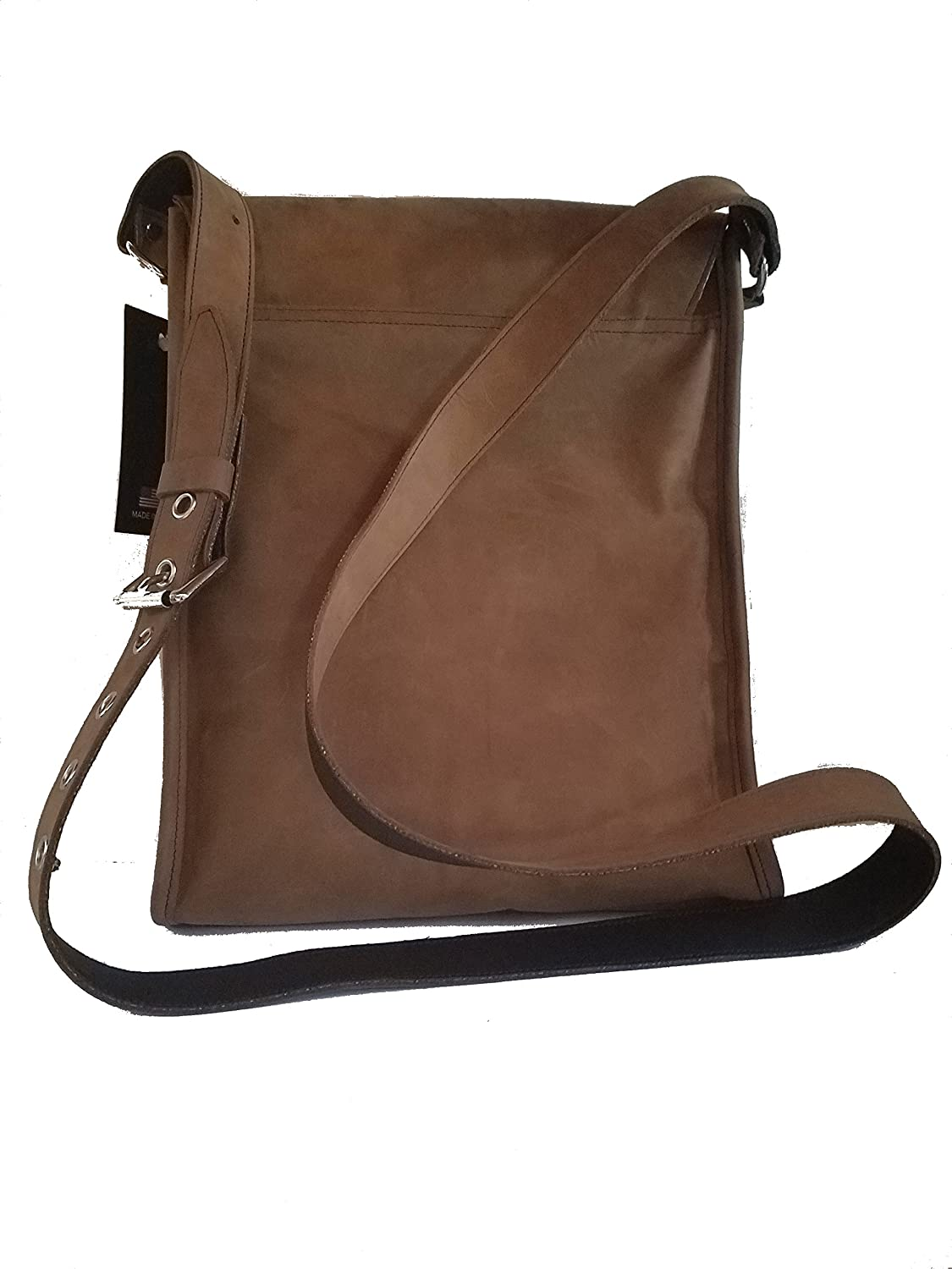 Custom Praying Cowboy Church Genuinte Soft Leather Messenger Purse