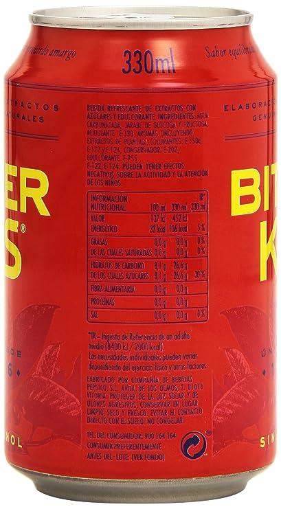 Bitter KAS - Bebida Refrescante sin Alcohol - 330 ml: Amazon.es: Alimentación y bebidas