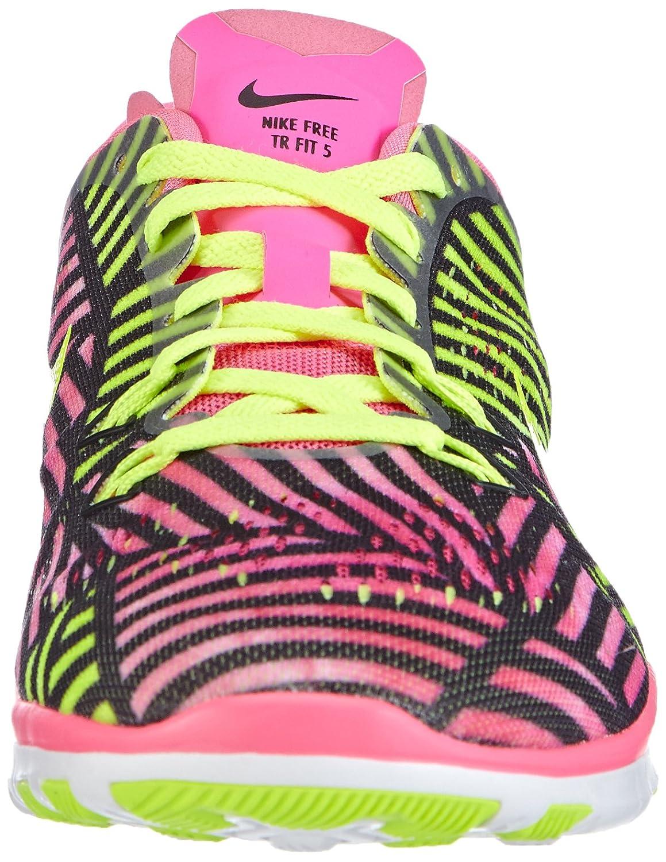 Nike Free Trainer Pink 5 Print 704695 Damen Hallenschuhe  Pink Trainer (Pink Pow/Volt-schwarz 600) a9d829