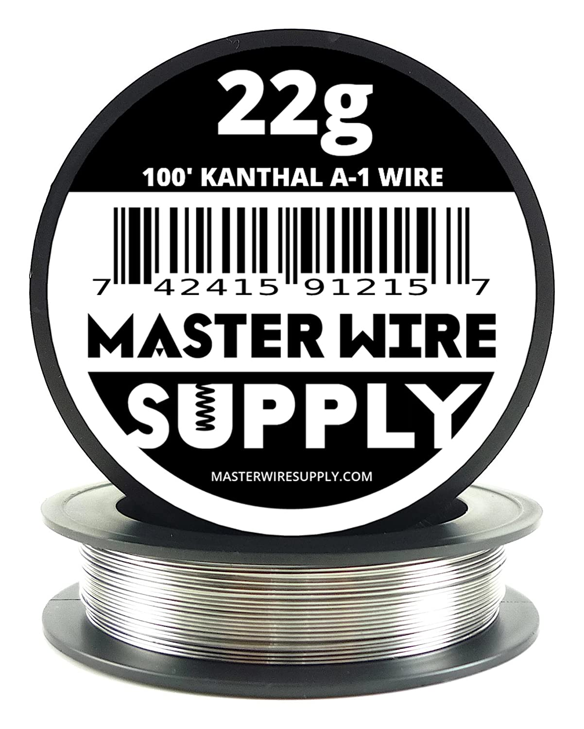 Kanthal A1-100' - 22 Gauge Resistance Wire Master Wire Supply