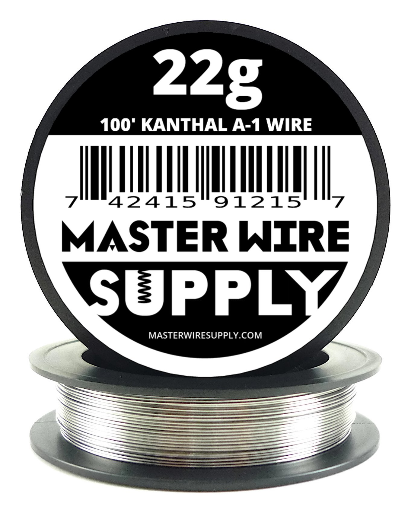 Kanthal A1-100' - 22 Gauge Resistance Wire