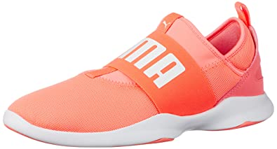 Puma Women s Puma Dare Nrgy Peach-Puma White Sneakers - 3 UK India ( 70aae2e04c