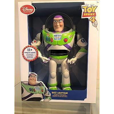 Disney Buzz Lightyear Talking Action Figure, Multi: Toys & Games