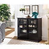 Amazon Com Kings Brand Furniture Wood Buffet Wine Rack