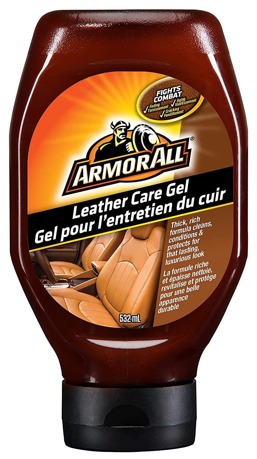 Armor All Leather Care Gel, 532ml Armored AutoGroup Canada 18418