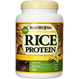 Nutribiotic Rice Protein, Vanilla, 21 Ounce