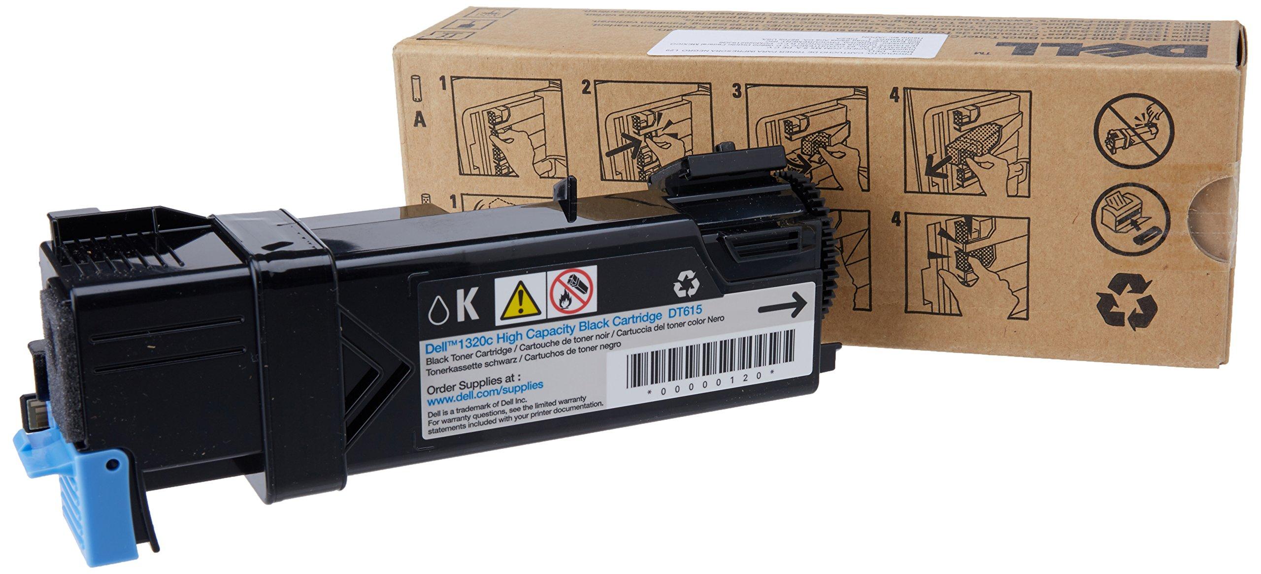 Toner Original Dell Dt615 Black 1320c Color Laser