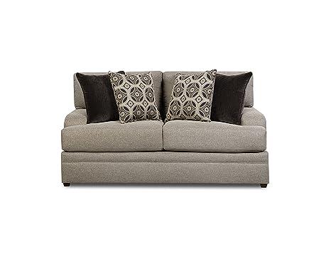 Amazon.com: Simmons Upholstery 8561BR-02 Dublin Briar ...