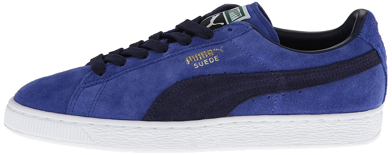PUMA Adult Suede Classic Shoe B00GV4IADS 6 M US|Limoges/Peacoat