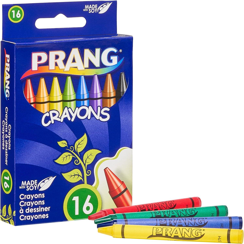 Assorted Colors Standard Size 00150 Prang Crayons Box of 4 Crayons