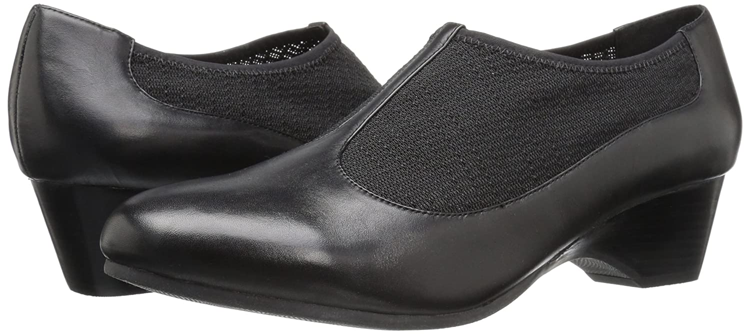 Bella Vita Women's Petra Flat B01HMZLLTY 8 N US|Black/Stretch