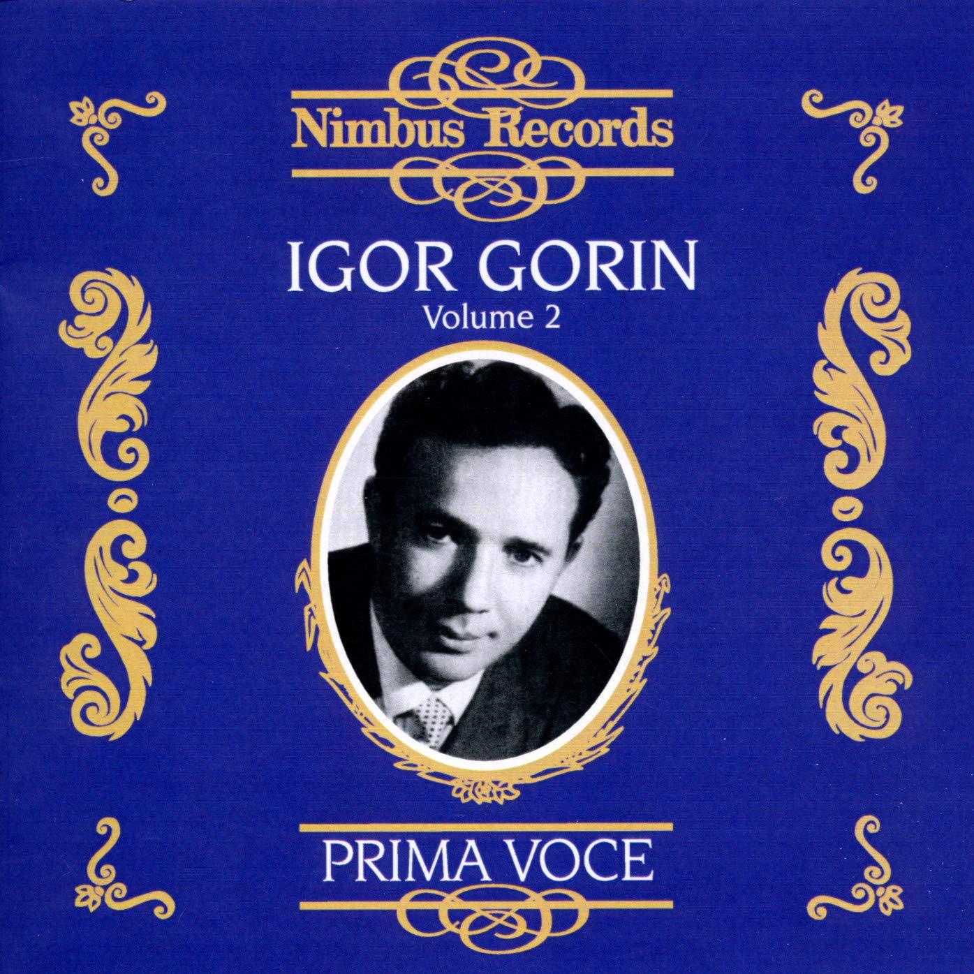 Igor Gorin 2: Prima Voce Selling sale rankings
