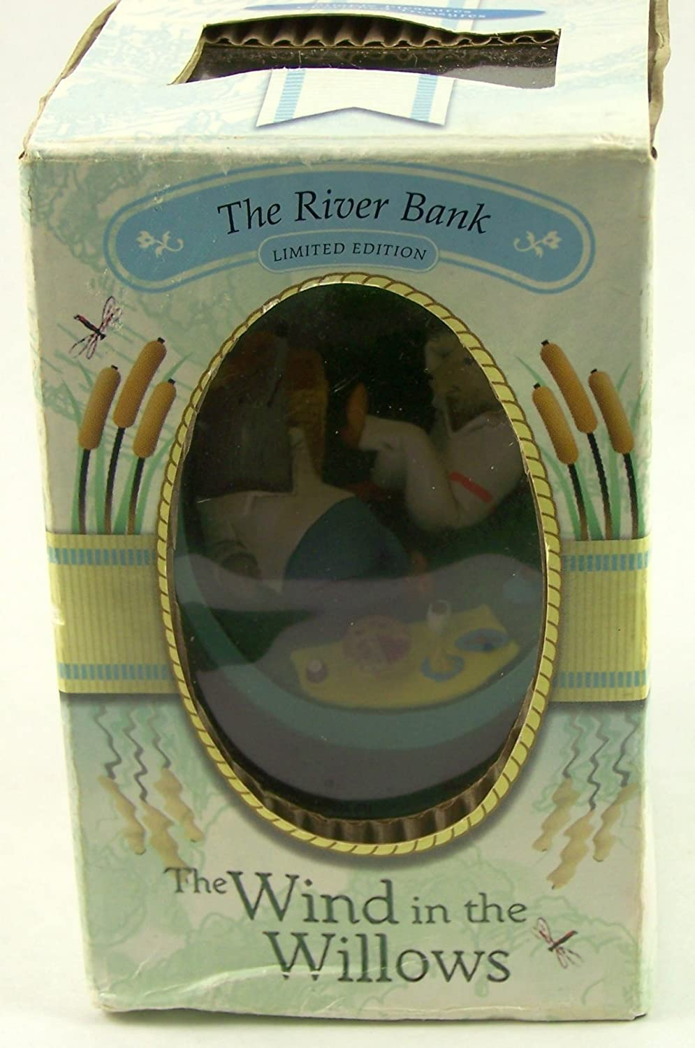 Wind in the willows ornaments - Amazon Com The Wind In The Willows Egg Figurine The River Bank Home Kitchen