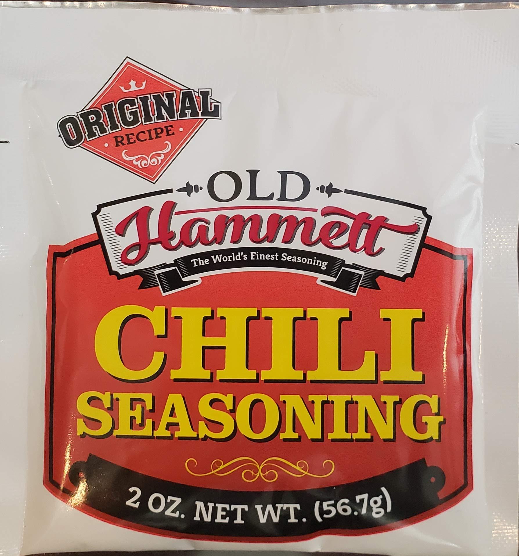 Old Hammett Chili Seasoning, 2-Ounce (Case of 24)