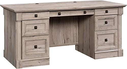 Sauder 424809 Palladia Executive Desk, Split Oak Finish