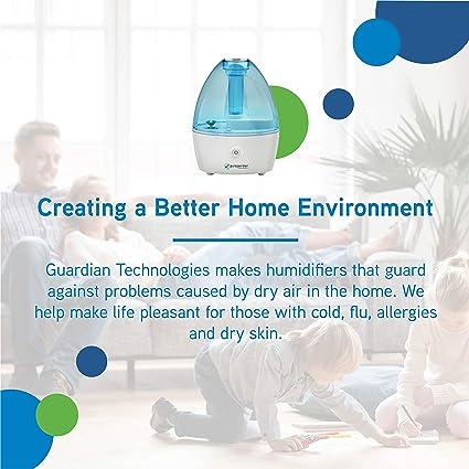 Guardian Technologies H910BL 14 Hour Nursery Ultrasonic Cool Mist Humidifier