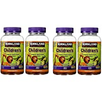 Kirkland Signature xGJNgN Childrens Complete Multivitamin Gummies, 160 Count (4...