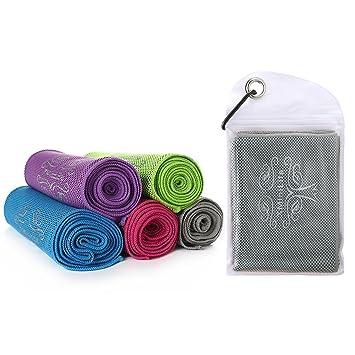 XMiniLife Toalla de refrigeración instantánea para deportes, gimnasio, secado de toallas de sudor, mascotas, absorbente de bebé, toalla seca, ...
