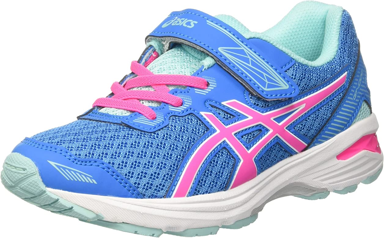 Asics Gt-1000 5 PS, Zapatillas de Deporte Infantil, Multicolor (Diva Blue/Pink Glow/Aqua Splash), 33 EU: Amazon.es: Zapatos y complementos