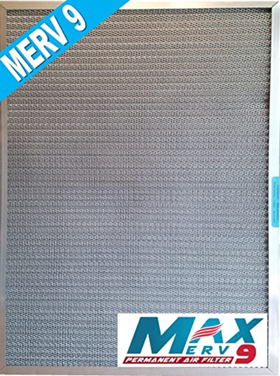5-stage certified merv rated electrostatic washable permanent ...
