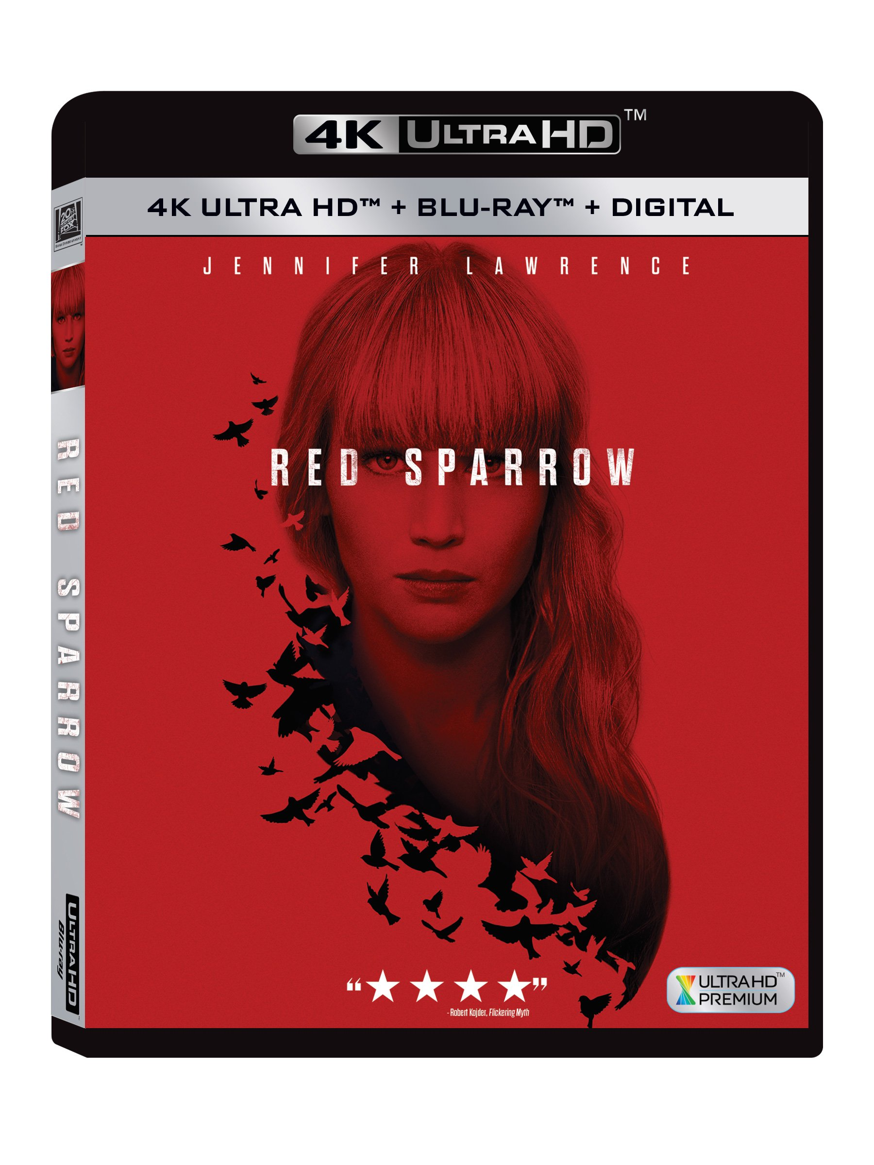 4K Blu-ray : Red Sparrow (Subtitled, Digital Theater System, Dolby, Widescreen, 2PC)