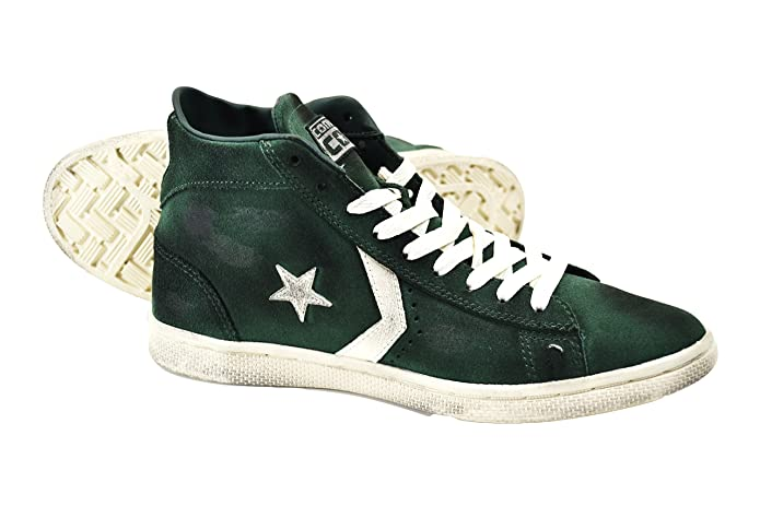 Converse limited edition Pro Leather Mid Suede, Verde, 10
