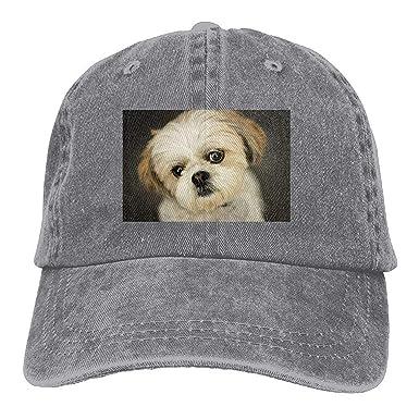 Moda Gorras de béisbol Sombreros Bolsa Divertida Shih Tzu Little ...