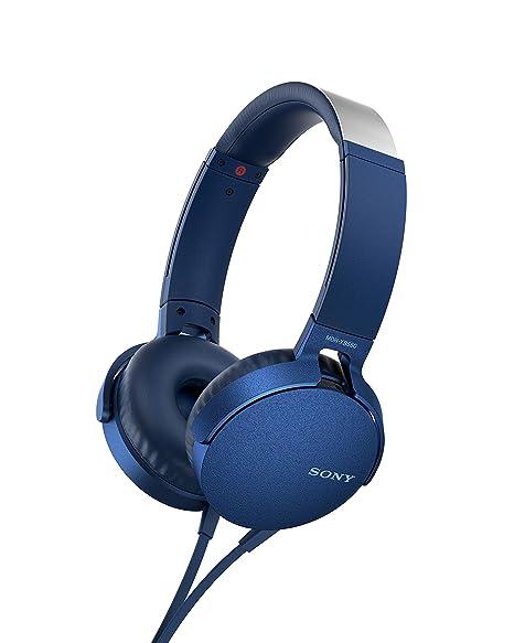 Sony MDR-XB550AP Cuffie Chiuse con Microfono e Comandi per Smartphone in  linea d7c2a2d908d0