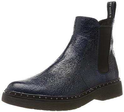 Tamaris Damen 25240 Stiefel, Blau (Navy), 41 EU