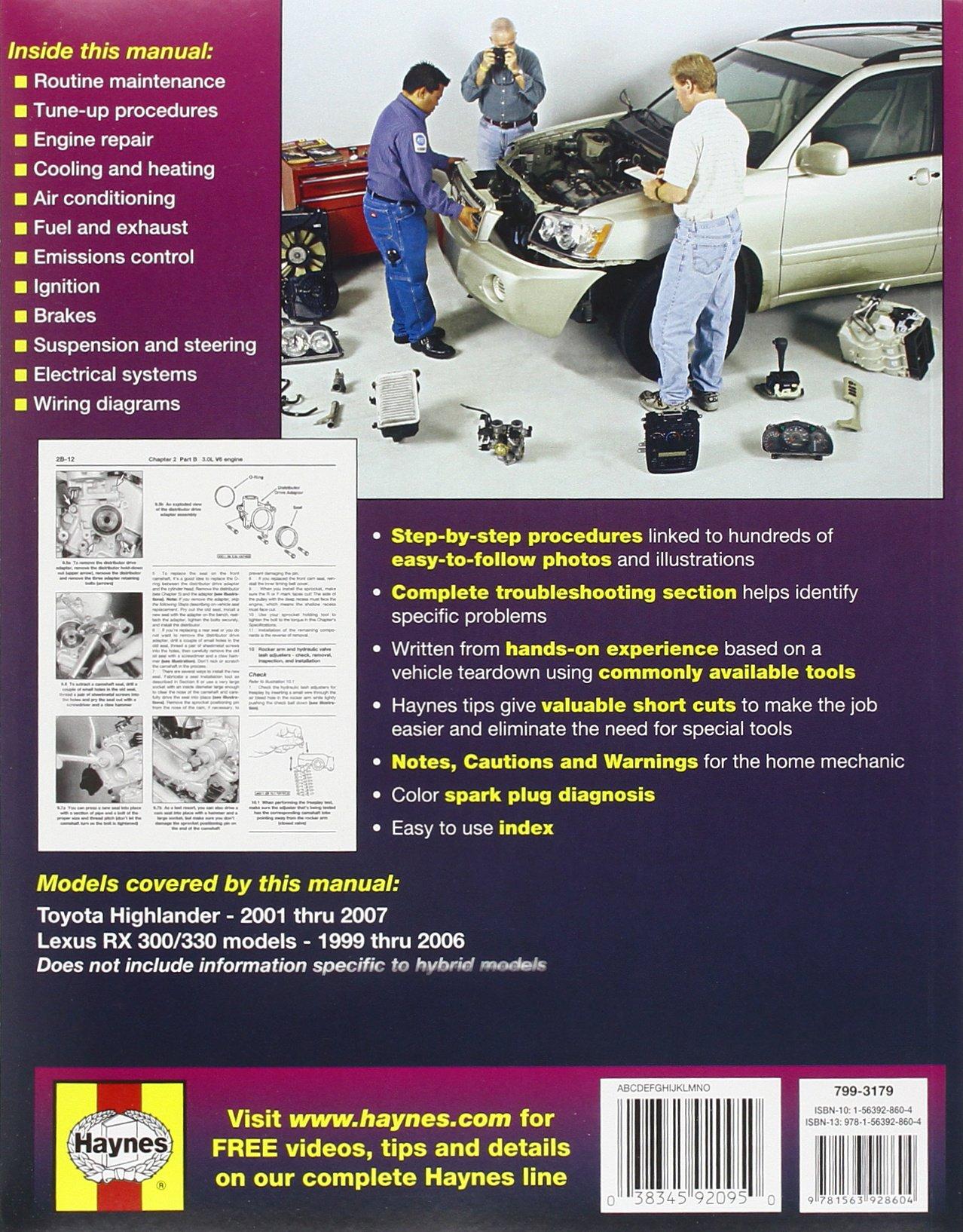 Toyota Highlander Service Manual: Precaution