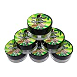 25 Girl Scout Cookies Shatter Labels Oil Wax Crafts 1G 5ML Acrylic Jars AJ-014