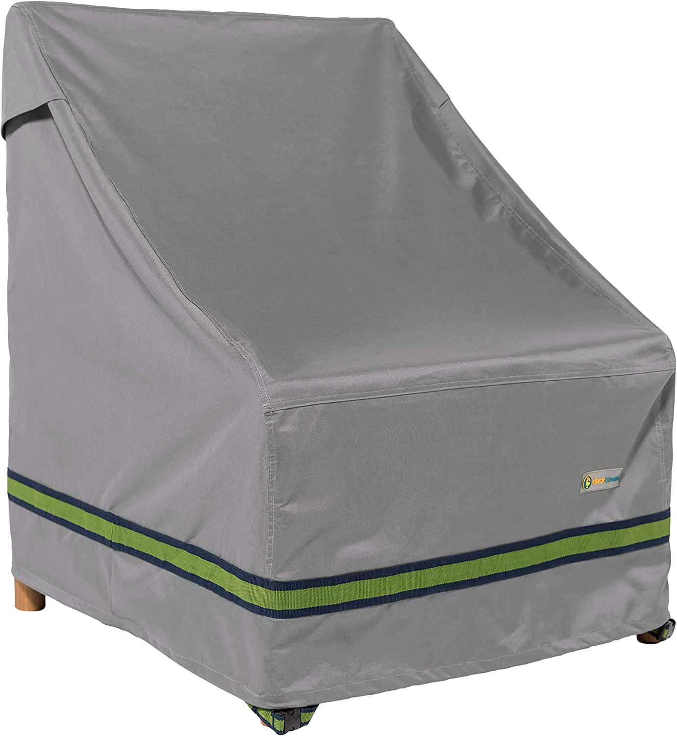 "Duck Covers Soteria Rainproof 36"" Wide Patio Chair Cover"