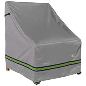"""Duck Covers Soteria Rainproof 32"""" Wide Patio Chair Cover"""