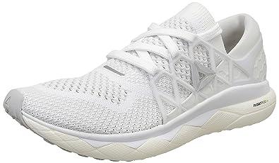 62d95e3d4b95cc Reebok Men's Floatride Run Ultk White/Steel/Coal Running Shoes - 11 UK/