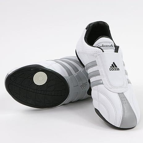 : adidas dga luxe formazione (bianchi, scarpe di cuoio