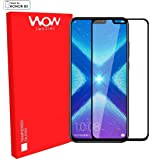 Original Premium Honor 8X Tempered Glass – WOW Imagine® Premium Full Glue Honor 8X Tempered Glass, Full Edge-Edge Screen Protection for Huawei Honor 8X - Black