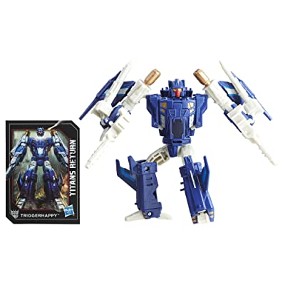 Transformers Generations Titans Return Triggerhappy and Blowpipe: Toys & Games