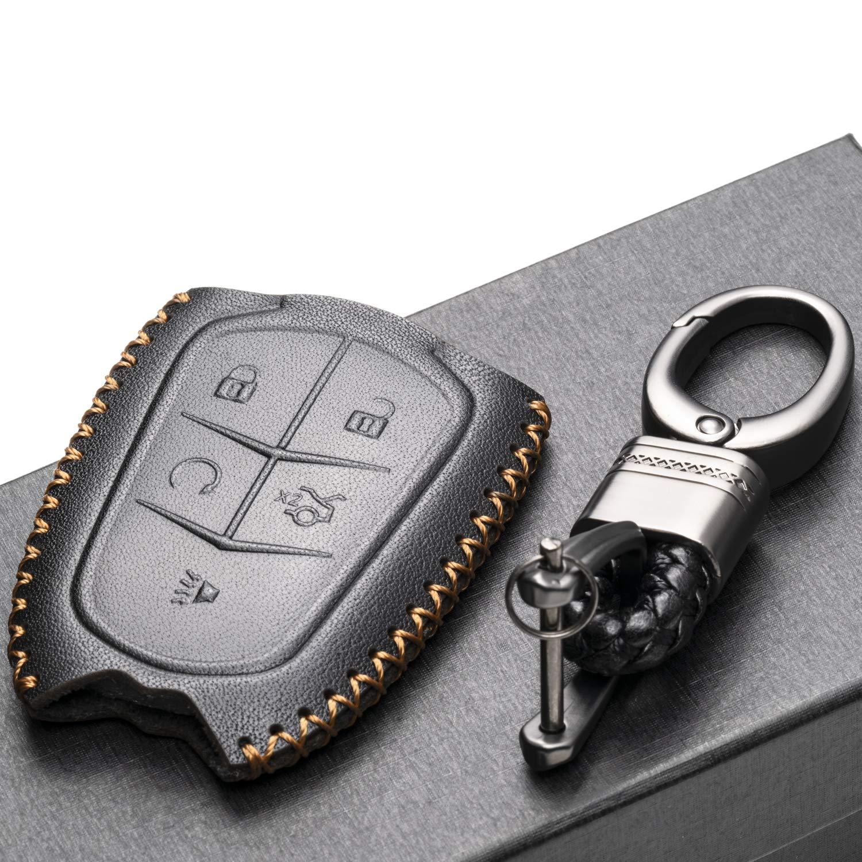 Amazon.com: Vitodeco - Funda de piel para llave de coche con ...