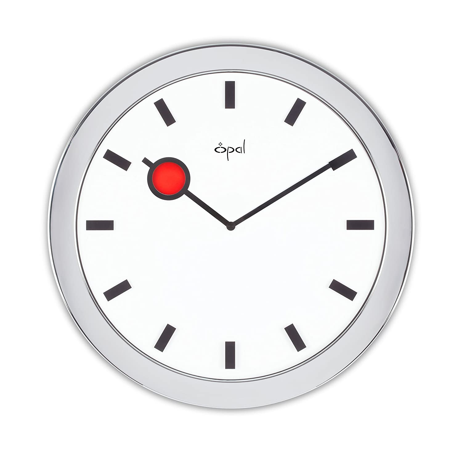 Buy Opal Wall Clocks Slim Clock White Online At Low Prices In