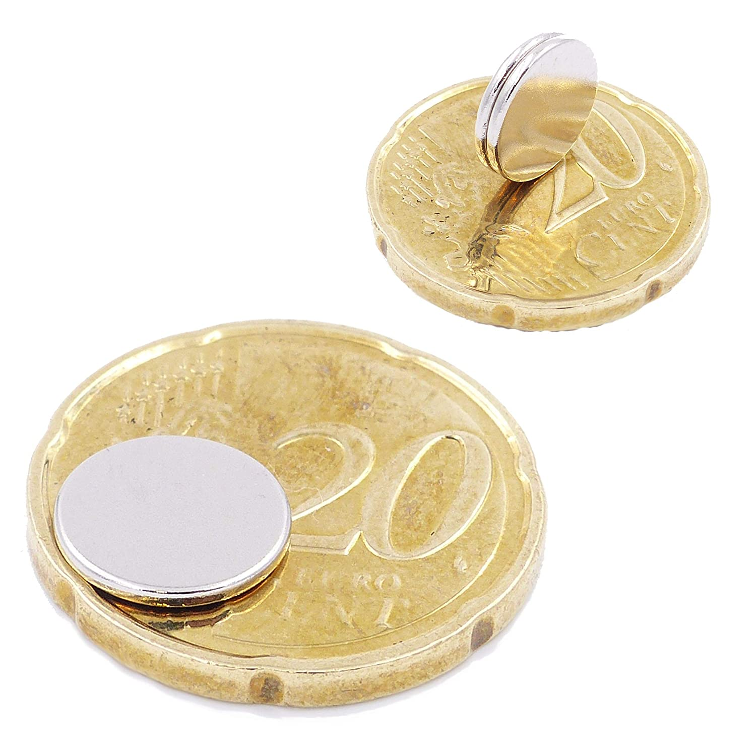 Photo small N52 strongest level Crafting 25 Mini Disc Magnets 8x5mm Neodymium Magnets super strong Brudazon Power Magnet for Model Making Whiteboard round /& extra strong Refrigerator