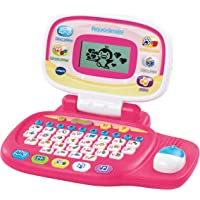 VTech - Peque Ordenador Educativo Infantil, Color Rosa, versión española (3480-155457)