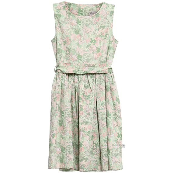 490918eb3bfc Wheat Girl s Bow Tinker Bell Dress  Amazon.co.uk  Clothing